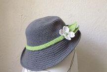 Crotchet summer hat