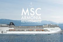 MSC Armonia / Welcome MSC Armonia.  She is the first of four MSC Lirica-Class ships to enter the Renaissance Programme, an ambitious two-year operation to make MSC Armonia, MSC Sinfonia, MSC Opera, MSC Lirica smarter, bigger and more beautiful.  Whether you are a seasoned adventurer with thousands of sea miles to your name, or a first-time guest about to embark on your maiden cruise, MSC Armonia is the ship that suits you.