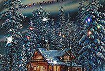 postales invierno