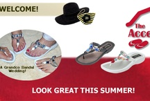 www.TheAccessoryBarn.com / TheAccessoryBarn.com is the official online retailer of Grandco Sandals- specializing in JEWELED and BEADED SOLE SANDALS for ladies and girls. We focus on making you look and feel great. We also carry a small line of ladies accessories.