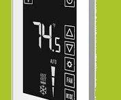 Termostato TOUCHSCREEN para calefacción/calderas/piso radiente/ frío/ventilación. Moderno diseño.