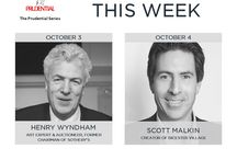 Prudential Series October Events