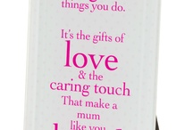 For mummy