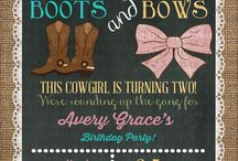 cowgirl party ideas