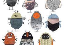 Weird little cute creatures