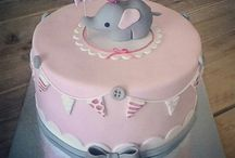 birthday cake 1 year girl