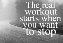 Fitness Quotes / by Kristine Enns