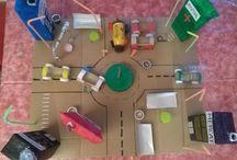 La ciutat educadora / És una ciutat creada a partir de materials reciclats!!