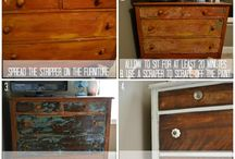 Furniture re-do / by Haley Richardson
