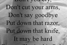 Self harms