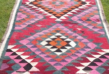 Carpets and rugs - lovely pattern and colour!