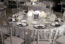 Table Decorations - glamour