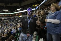 Wolves Army (Section 121) / #Twolves crazy fan section / by Minnesota Timberwolves
