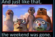 weekend hallo's