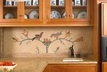 Wonderful Walls / From wallpaper and stencils to murals and tile, inspiring ideas for old-house walls.