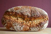 Brot mit Grieß /Polenta/Hartweizenmehl