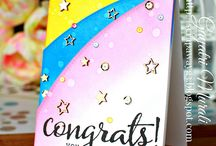 PPP: Stitched Borders 1 Inspiration / A board filled with inspiration using the Pretty Pink Posh die set: Stitched Borders 1