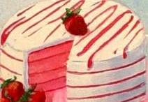 Pasteleria # Cupcake # Tartas # Patisserie # Dulces / Imágenes de tartas, dulces, cupcake, láminas para scrap,  manualidades, tipo vintage.