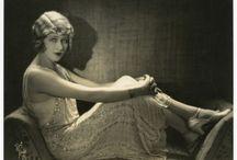 1920's Oriental Empress / the girl with the velvet swing