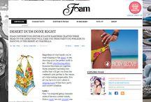 WET Swimwear Press Features / Press Features