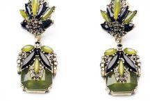 earrings, pendientes