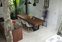 Outdoor living / Outside dining entertaining