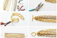 DIY - JEWELRY & Jewelry Organization / Easy diy jewelry making projects or similar and organizing jewelry & supplies