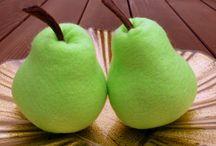 felt foods - pears