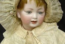 Antique Dolls / Antique dolls are wonderful and such fun to collect! To think of the little victorian girls who owned them once upon a time..and to have them still around making folks smile, is pretty amazing. They're all special! / by Linda Miller-Favorite Things