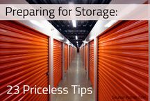 Storage Tips & Ideas / Helpful ideas for preparing yourself and your belongings for storage!