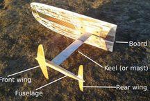 DIY kite foil
