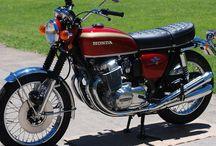 Honda Vintage Motorcycle