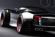 Audi,,nice car / by Christos Jones