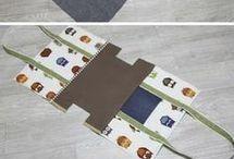 Sewing stuff/bags.
