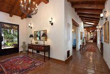 Spanish hacienda decor