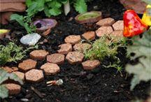 garden spaces / ideas for gardens big and small