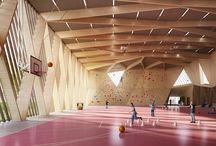 gymnase architecture