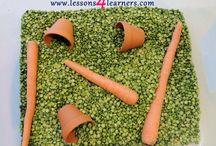Vegetable Lesson Plans