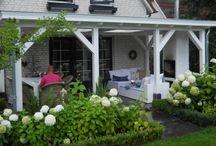 Overdekte terrassen