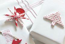ajándék , csomagolás