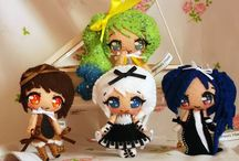 instrumental dolls / Piccole fatine della musica, provengono da un mondo magico fatto di suoni e melodie. Ognuna di loro ha un tratto particolare, perchè non vieni a scoprirle?
