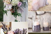 Palette nozze: lilla e lavanda