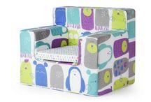 Sillones infantiles / Sillones infantiles de gran calidad y diseño, tanto en alegres colores y diseños como sobrios de color lisol