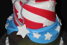Patriotic Cake Decorating Ideas / Cakes, cookies and cupcakes for Memorial Day and 4th of July