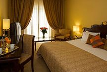 Rooms & Hospitality / A total of 200 Hotel Rooms and Suites offer a combination of exceptional levels of luxury and comfort reflected through the décor and furnishing, enhanced by elegant pieces and marble bathrooms.
