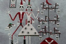 Cross-stitch / by Sanne Jacobsen