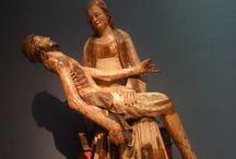 Vergine della Pietà. Alto Reno,1320. Friburgo, Augustiner museum / Vergine della Pietà. Alto Reno,1320. Friburgo, Augustiner museum. Foto gennaio 2013