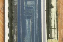 Galleria del 1999 / pittura di arte astratta materica