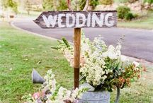Backyard Wedding / Get inspired to organize your garden party style wedding - Backyard wedding ! Tips and idea from Amoretti wedding planning designer.
