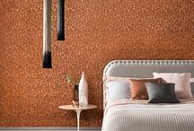 Lincrusta Bedroom Inspiration / Inspiration for residential space using Lincrusta, to create a variety of styles.
